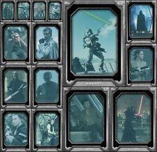Topps Star Wars Card Trader Holo-Screen Marathon [15X SET] AWARD READY Poe/Boba+