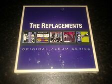 THE REPLACEMENTS - ORIGINAL ALBUM SERIES 5 CD SET NEW SEALED 2012 WARNER