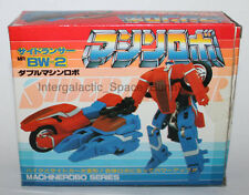 1986 Bandai Machine Robo Japanese Double Machine Side Lancer Boxed