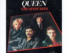 CD QUEEN greatest hits GERMAN EX RED LABEL