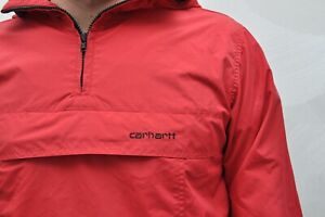 Carhartt Red Anorak Light Jacket Men's size - XS
