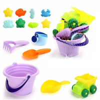 Summer Silicone Soft Baby Beach Toys Children'S Mesh Bag Bath Toy Set Beach Y5G3