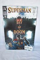 DC Comics Superman Day of Doom Comic Book #1 Jurgens 2003