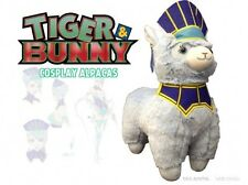 Tiger and Bunny 12'' Blue Rose Cosplay Llama Alpaca Plush Licensed NEW