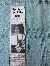 b2-6 ephemera 1963 picture thanet oysters rock group philip sole