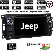 "6.2"" Car DVD Player GPS Navigation Radio For Jeep Grand Cherokee Dodge Chrysler"