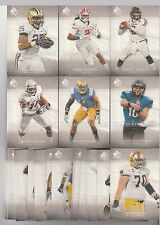 DEREK CARR 2014 SP AUTHENTIC CANVAS INSERT SET (1-50) W/SP'S