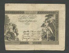 ITALY - 100 lire  1799  Ps132  ( World Paper Money )