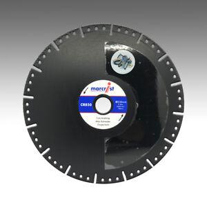 Marcrist CR850 Super-Abrasive 230mm x 22,23mm Stahl Guss KFZ Stahlbeton PREMIUM