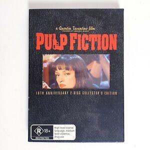 Pulp Fiction 2 Disc Collectors Edition Movie DVD Region 4 AUS Quentin Tarantino