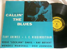 TINY GRIMES & J.C. HIGGINBOTHAM Callin the Blues Eddie Lockjaw Davis LP