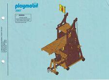 Playmobil Bauanleitung 3887 Angriffsturm