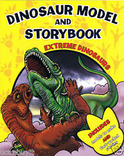 EXTREME DINOSAURS Press-Out Dinosaur Models & Fun-Fact Stories Activity Book