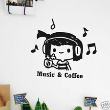 HIMORI Graphic Wall decor Life Sticker_Music & Coffee