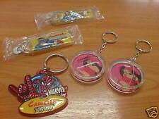5pcs Genuine Marvel Super Heroes Key Chain SPIDERMAN