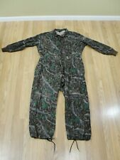 3a20583bf414d VTG Liberty USA Camouflage Hunting Hide 'N Tree COVERALLS Mens XL Reg 1-pc