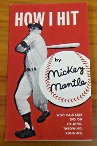 Rare Original 1956 Lifebuoy Mickey Mantle Premium NMT Condition Not A Reprint