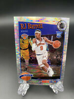 2019-20 NBA Hoops Premium Stock RJ BARRETT Prizm Pulsar Rookie RC KNICKS