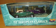 Hotwheels Limited Edition.60Th Anniv.'37 European Classics.New
