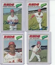 1977 Topps signed Pat Zachry  autograph Reds w/COA