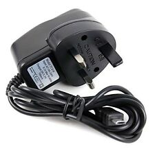 Black AC 100~240V TO DC 5V MICRO USB UK PLUG MAINS WALL CHARGER CE APPROVED UK