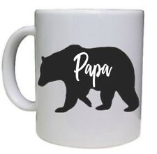 Novelty COFFEE MUG Paper Bear Novelty Gift for Father Dad