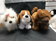 3 Webkinz Puppies New w/Sealed Codes -HOUND DOG, SHIH TZU,CHOW CHOW