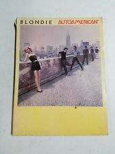 Vintage 1981 Blondie - Autoamerican Sheet Music Song Book! Nice Pictures!