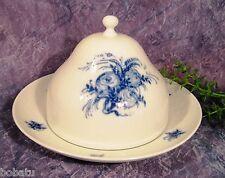 ROSENTHAL Romanze blau, blaue Blume - 1 Butterdose  - Käseglocke