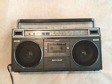 Vintage Boombox Radio/Cassette Player Lenoxx. Radio Works/Cassette Doesn't Work