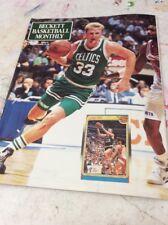 Beckett Basketball Magazine Monthly Price Guide February 1991 Larry Bird