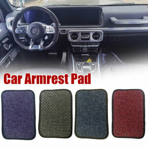 Dust-proof Car Armrest Pad Cushion Cover Center Console Box Pads Mat Universal