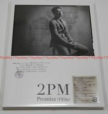 New 2PM Promise I'll be Japanese ver. First Limited Edition G Chansung CD Japan