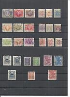 Polen, Poczta Polska 1919 - 2001, Sammlungen gestempelt/Falz o/*, zur Auswahl