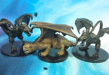 Dungeons & Dragons Miniatures Lot  Wyvern Manticore Dragon Kin !!  s101