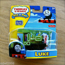 Thomas & Friends LUKE Take-N-Play diecast Green 22 tank engine train Irish