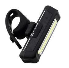 Moon Comet 100 Lumen USB Rechargeable Front Bike Bicycle Light Blk