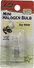 Zilla Reptile Terrarium Heat Lamps Mini Halogen Bulb, Day White, 25W