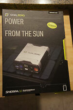 Goal Zero Sherpa 50 Portable Recharger Inverter with Nomad 13 Solar Panel 42005