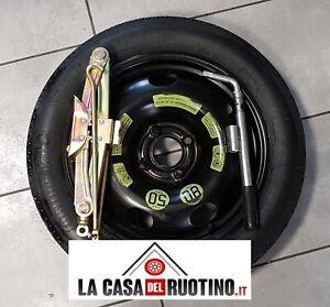 """RUOTINO DI SCORTA Ford ECOSPORT 16""""ORIGINALE con  CRIC  OMAGGIO+chiave"""