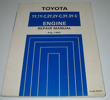 Repair Manual Toyota 1Y 1Y-C 2Y 2Y-C 3Y 3Y-C Engine Crown Hiace Liteace Hilux!