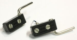 PHILIPS GA222 Set Of Two Dustcover Hinges-Vintage Turntable