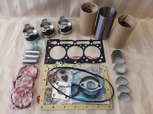 Kubota D1105 Rebuild Kit /  Pistons, Rings, Conrod Bearings, Gasket Set Only