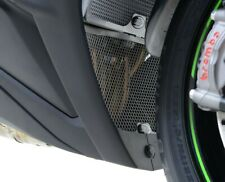 R&G RACING BLACK DOWNPIPE GRILLE FOR Kawasaki ZX10-R 2011-2019