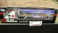 DCP#32619 CARRIER REEFER SALES IH PROSTAR SEMI TRUCK & REF VAN TRAILER 1:64/FC