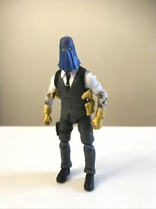 "1/18 3.75"" Scale Custom GI Joe Cobra Commander"