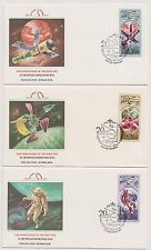 USSR FDC 1977 Fleetwood 7 First Day Covers 20th Anniversary of the Space Age |