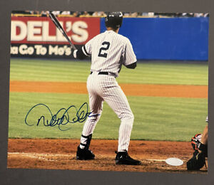 Derek Jeter Signed Autographed 8x10 Yankees Steiner Holo Final Game '08 Rare Pic