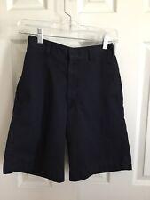 Boys Scholarwear Navy Blue Uniform Shorts Size 28 Husky