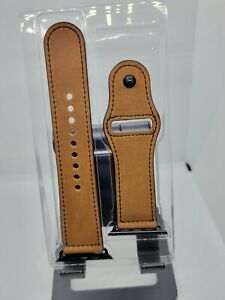 Apple Watch 43mm/44mm Brown Leather Band